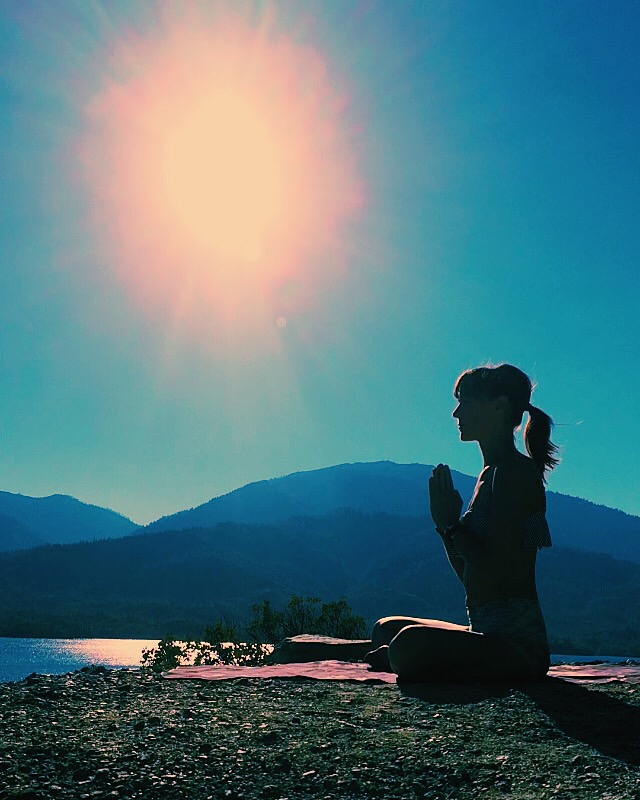 meditation with Audrey DeLong, Whiskeytown Lake, Redding